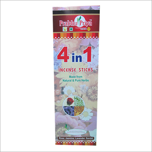 4 in 1 Incense Sticks
