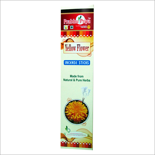 Yellow Flower Incense Sticks