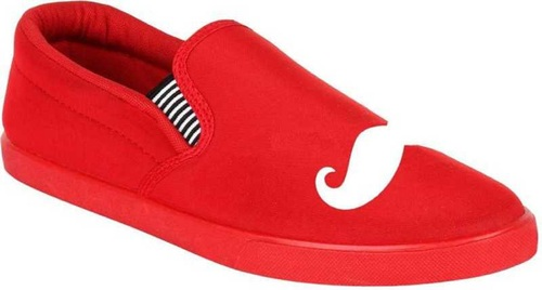 Red Canvas Shoe