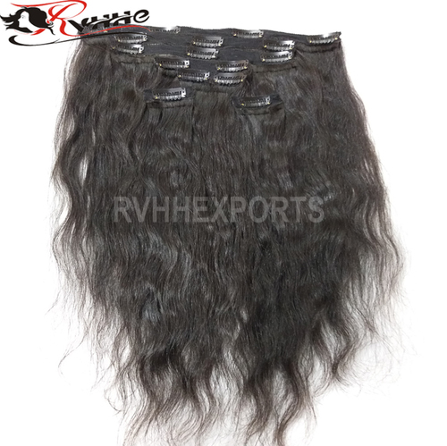 Wholesale Clip100% Brazilian Human Hair Grade 9a Virgin Hair