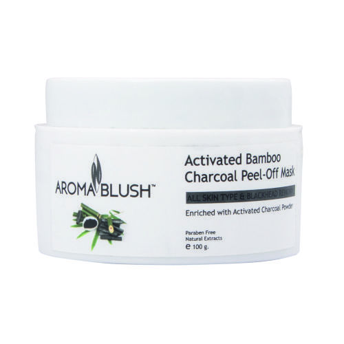 Aroma Blush Activated Bamboo & Charcoal Peel Off Mask