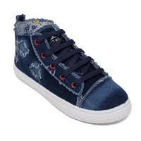 Navy Blue Girls Shoes