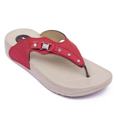 Red Designer Women Sandal