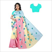Women's Fancy Cotton Silk Sarees