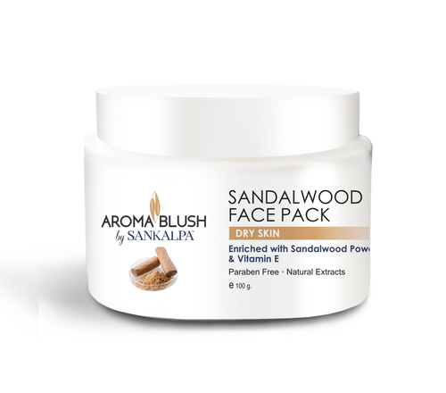 Aroma Blush Sandalwood Face Pack
