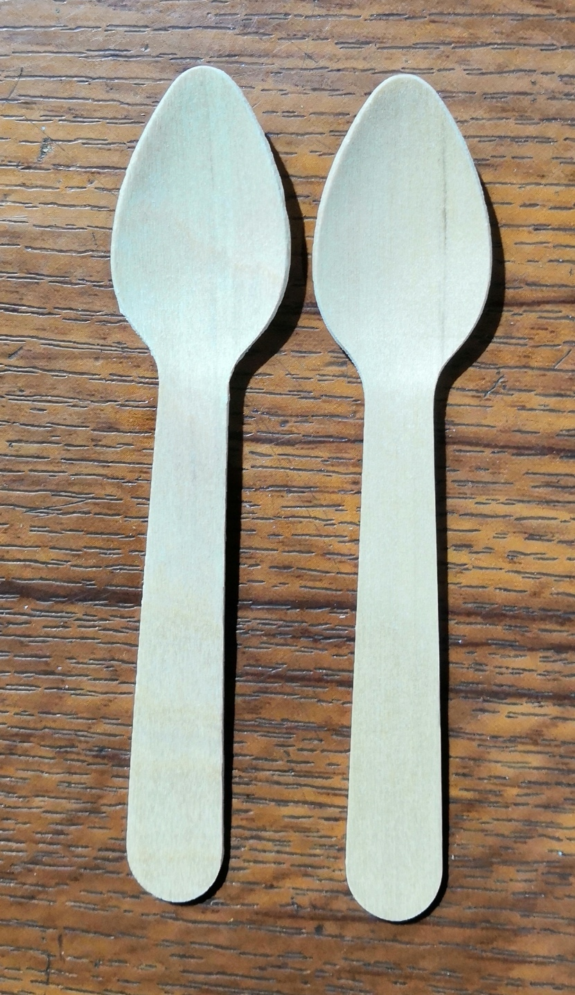 110 mm wooden spoon