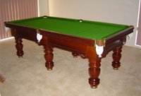 Pool Table With Super Pool Cloth