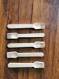 160 mm wooden fork
