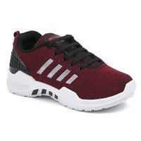 RED  WHITE Sports Shoes