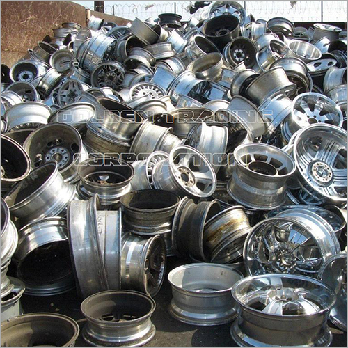 Aluminium Cast Wheel Scrap