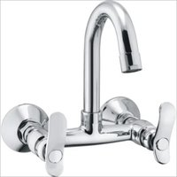 KITCHEN SINK MIXER TAPS WALL MOUNTED