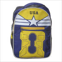 Nylon School Backpack Bag