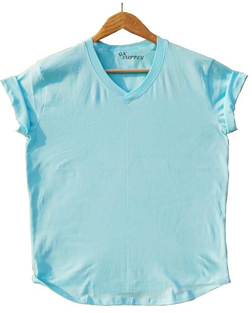 Sky Blue T-Shirt-002