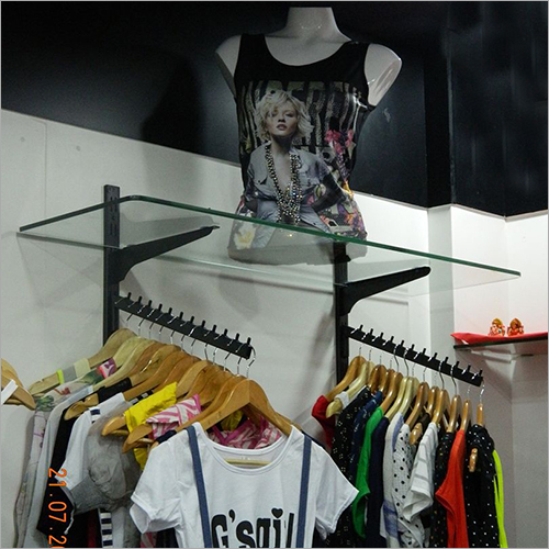 Wall Garment Display Rack
