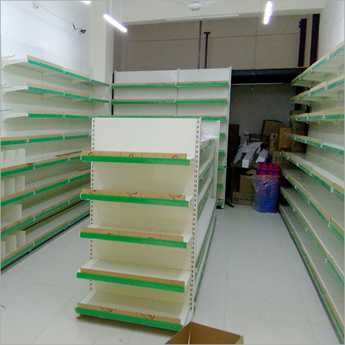 Modular Supermarket Display Rack