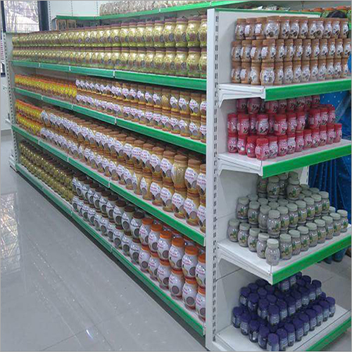 Modular Supermarket Display Rack