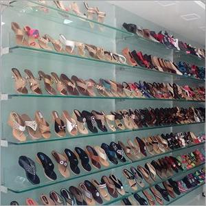 Wall Mounted Shoes Display Rack