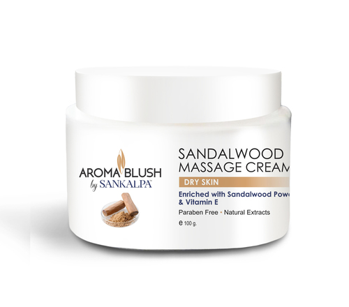 Sandalwood Face Massage Cream