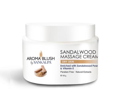 Sandalwood Face Massage Cream