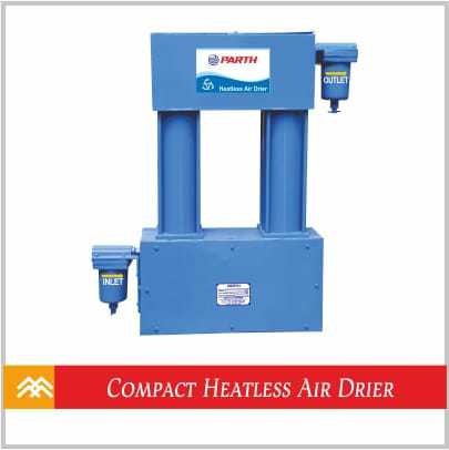 Compact Heatless Air Drier