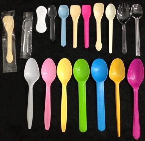 Corn Starch Ice Cream Spoon