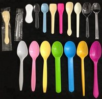 Corn Starch Ice Cream Spoon