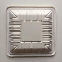 biodegradable Corn Starch Square Plate