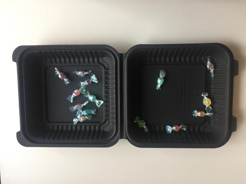 Biodegradable Corn Starch Hamburger Box