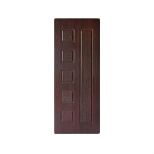 Dark Brown Textured Membrane Doors