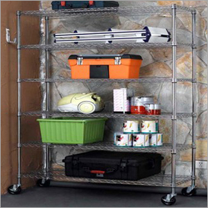 Space Saving Adjustable Wire Shelving