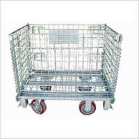 Foldable Wire Steel Mesh Container