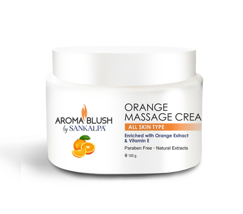 Orange Face Massage Cream