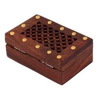 Rectangular Shaped Wooden Jewellery Box