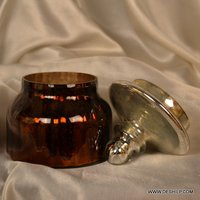 MINI GLASS JAR WITH LID