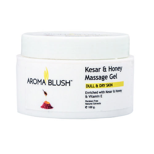 Aroma Blush Kesar & Honey Face Massage Gel