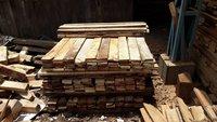 Pine wood plank