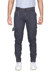 Mens Designer Cotton Cargo Trouser