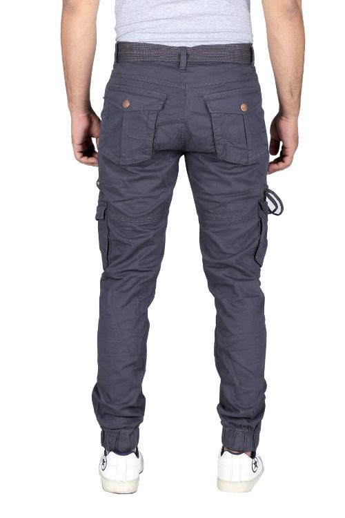 Mens Designer Cotton Cargo Trouser