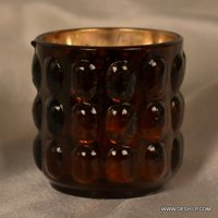 SMALL T LIGHT BIG DOTTED CANDLE HOLDER