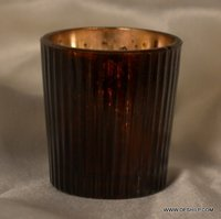 SILVER T-LIGHT CANDLE HOLDER