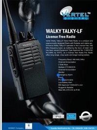 License free walky talky LF