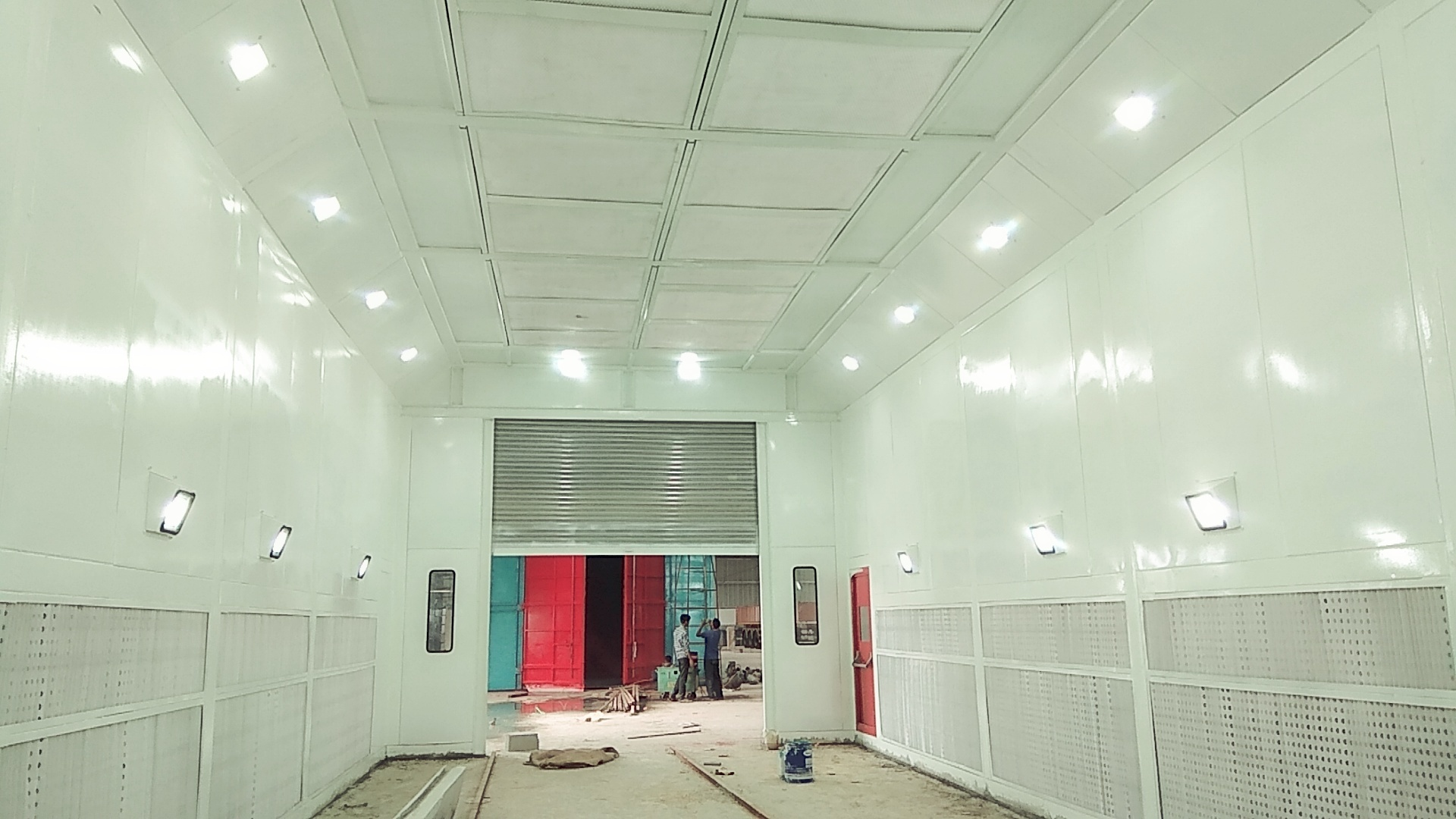 Industrial Paint Booths