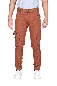 Mens 6 Pocket Plain Cargo Pants