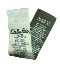 Designer Wash Care Labels