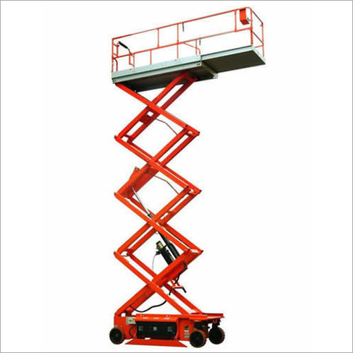 Battery Operated Scissor Lift
