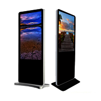 Floor Standing LCD Display
