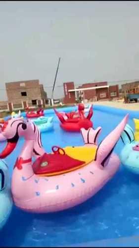 Water Boat Animal Shape