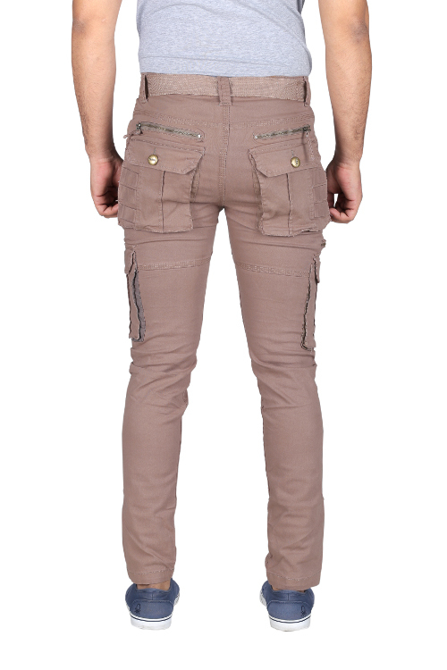 Mens Casual Cargo Trousers