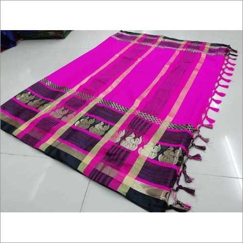 Pure Soft Poly Silk Jacquard Sarees