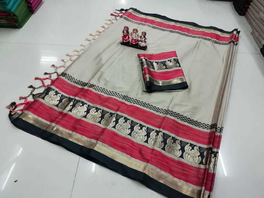 Pure Soft Poly Silk Jacquard Sarees